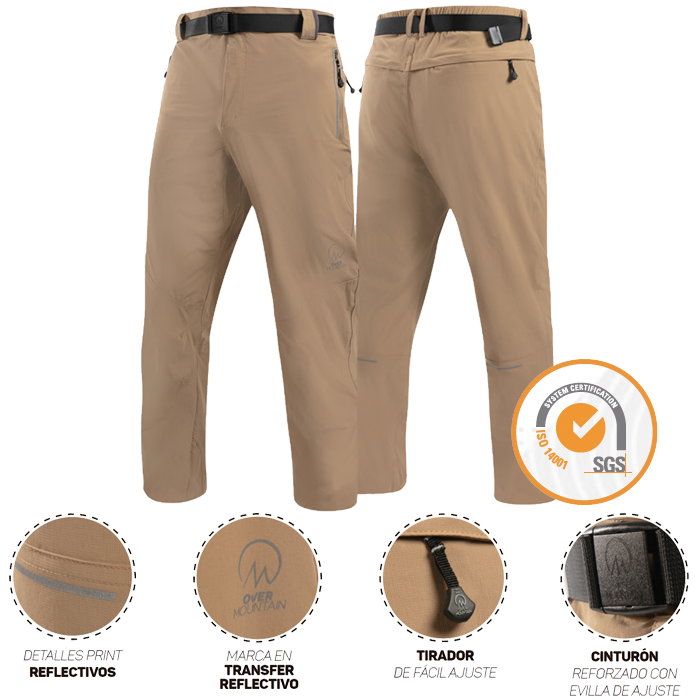 Outdoor OverMountain | Pantalones | Pantalon Acacio Ripstop Outwork Hombre